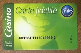 CASINO CARTE DE FIDÉLITÉ NO PHONECARD CARD PAS TÉLÉCARTE S'MILES - Frankreich