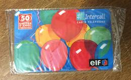 ELF STATION SERVICES CARTE À CODE INTERCALL 50 UNITÉS NSB PHONECARD CARD QUE POUR LA COLLECTION - Prepaid-Telefonkarten: Andere