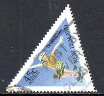 NOUVELLE ZELANDE. N°1371 Oblitéré De 1995. Planche à Roulettes. - Skateboard