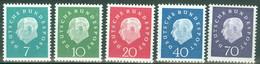 BRD 302/06 ** Postfrisch - Unused Stamps