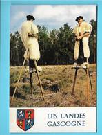 40-----LES LANDES GASCOGNE--bergers Sur échasses---voir 2 Scans - Unclassified