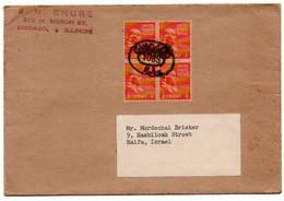 USA. Cover Of Chicago, Illinois To Haïfa, Israël. - Postal History