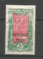 Timbre Colonie Francaises Oubangui  Oblitere N 41 - Usati