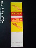 SCATOLA X FIAMMIFERI - MINERVA SAFFA ANNI 50-60 PUBBLICITÀ MAGAZZINI ALCER, NAPOLI - Matchboxes