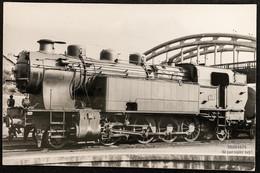 PhotoLocomotive Vapeur 141 TA SNCF Limoges Années 1950 France Train Gare - Eisenbahnen
