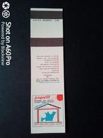SCATOLA X FIAMMIFERI - MINERVA SAFFA ANNI 50-60 PUBBLICITÀ POPULIT - Matchboxes