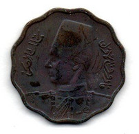 Egypte  - 10 Millième 1938-  état  TTB - Egypte