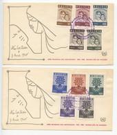 Bolivia, 1960, World Refugee Year, Cocteau FDC - Bolivia