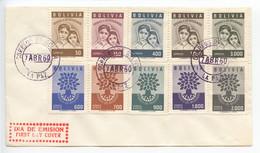 Bolivia, 1960, World Refugee Year, FDC - Bolivia