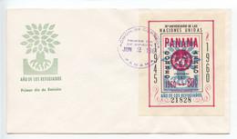 Panama, 1960, World Refugee Year, FDC - Panama
