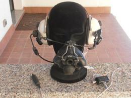 RAF - DL CREW CHIEF HEADPHONE W/OXIGEN MASK & BOOMMIKE - Aviation