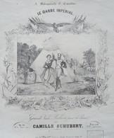 Le Garde Impérial - Grande Valse Brillante Pour Le Piano De Camille Schubert  - éditeur Prilipp, Paris - Spartiti