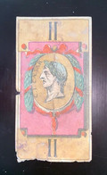 17 CARTES TAROT ATOUT MEDAILONS EMPEREURS ET IMPERATICE ROMAINS XVIII EME EAU FORTE COULEUR AU POCHOIR SUR VELIN - Playing Cards (classic)