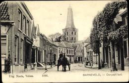 CPA Barneveld Gelderland Niederlande, Dorpsstraat, Kerk - Ohne Zuordnung