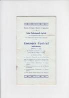 Concours Central National De Juments Poulinières Et De Chevaux Belges à Waregem - 1912 - Programmes