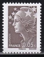 Variété - YT 4227 Marianne De Beaujard 0,05€ Brun Sans Barre Phosphorescente (Maury:4210b) Neuf** Cote : 45€. - Variedades: 2000-09 Nuevos