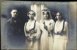 Prince Gottfried Von Hohenlohe Langenburg, Princesse Alexandra, Marie Malita, Irma - Königshäuser