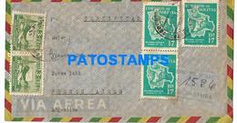 145156 BOLIVIA COCHABAMBA COVER CANCEL REGISTERED CIRCULATED TO ARGENTINA NO POSTAL POSTCARD - Bolivia