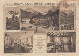 Trentino - Bolzano - Canazei  - Hotel Pensione Croce Bianca - 5 Vedute  - F. Grande - Nuova - Molto Bella - Andere Steden