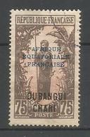 Timbre Colonie Francaises Oubangui Oblitere N 58 - Usati