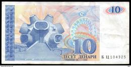 Makedonija,1993,Mazedonien,Macedonia,Macedoine,Pick#9, 10 Denari 1993,as Scan - Macedonia