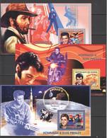 TT173 2006 REPUBLIQUE DE GUINEE FAMOUS PEOPLE ELVIS PRESLEY 3BL MNH - Elvis Presley