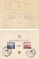 VP043 - Czechoslovakia 1937 - BRATISLAVA BLOCK #1 - FIRST DAY POSTMARK - MNH ** - Czechoslovakia