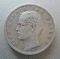 Germania, Baviera, 5 Marchi 1903 D Monaco Ottone Argento - Germany Bayern 5 Mark Otto Munich Silver - [ 2] 1871-1918: Deutsches Kaiserreich