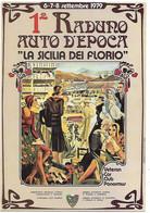 CPM - 1er RADUNO AUTO D'EPOCA ' LA SICILIA DEI FLORIO - 1979 - Moda