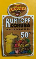 16371 -  Rumtopf Coruba - Rhum