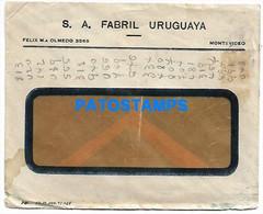 145161 URUGUAY MONTEVIDEO COVER PUBLICITY ACEITE GRAN SEÑOR NO POSTAL POSTCARD - Uruguay
