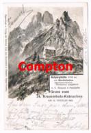 605 E.T.Compton Hofpürglhütte Dachstein Künstlerkarte - Compton, E.T.
