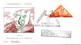 1959 SAN MARINO FDC Universiadi Di Torino - FDC