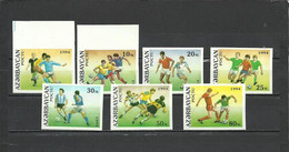 AZERBAIJAN  Soccer Football World Cup 1994   7v. Imperf.   Rare! - 1994 – Estados Unidos
