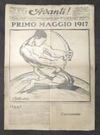 Giornale - Avanti! - Anno XXI - N. 120 - 1917 - Primo Maggio - Libri, Riviste, Fumetti