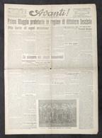 Giornale - Avanti! - Anno XXVII - N. 103 - 1923 - Primo Maggio Proletario - Libri, Riviste, Fumetti