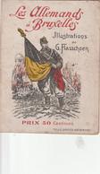 BRUXELLES LES ALLEMANDS A BRUXELLES - War 1914-18