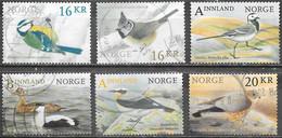 Norvège - Oiseaux  - Oblitérés - Lot 607 - Gebruikt