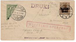 1916 POLOGNE OCCUPATION ALLEMANDE. - Gebruikt