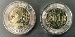 Zimbabwe - 2 Dollars Bond Coin 2018 / 2019 UNC Lemberg-Zp - Zimbabwe