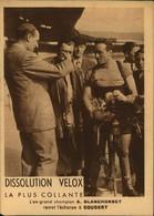 N°2110  RRR DID4 DISSOLUTION VELOX  L EX CHAMPION A BLANCHONNET REMET L ECHARPE A COUDERT - Pubblicitari