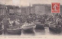 75 - Inondations De Paris Janvier 1910 - Arrivée Des Matelots - LL - Circulé - Belle Animation - BE - Alluvioni Del 1910