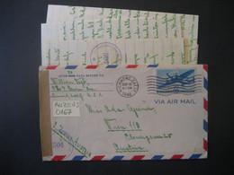 Vereinigte Staaten 1946- Flugpost Zensurbeleg Gelaufen Von Richmond Nach Wien - Covers & Documents