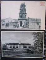 Singapour Lot 2 Cpa Temple Hindu Et Hospital - Singapore