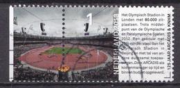 Nederland - 125 Jaar Arcadis/Heidemij - Olympisch Stadion Londen - Gebruikt/gebraucht/used - NVPH 3020 - Gebraucht