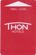 NORVEGIA  KEY HOTEL   Thon Hotels - Hotelkarten