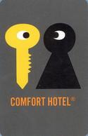 NORVEGIA  KEY HOTEL   Comfort Hotel - Hotelkarten
