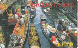 Nice China Phone Card -Thailand Floteng Market BKK - Telefoonkaarten