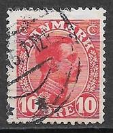 Denmark 1913. Scott #100 (U) King Christian X - Usati