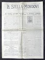 Giornale - La Stella Di Mondovì - Anno XXX - N. 1 - Sabato 5 Gennaio 1918 - Libri, Riviste, Fumetti